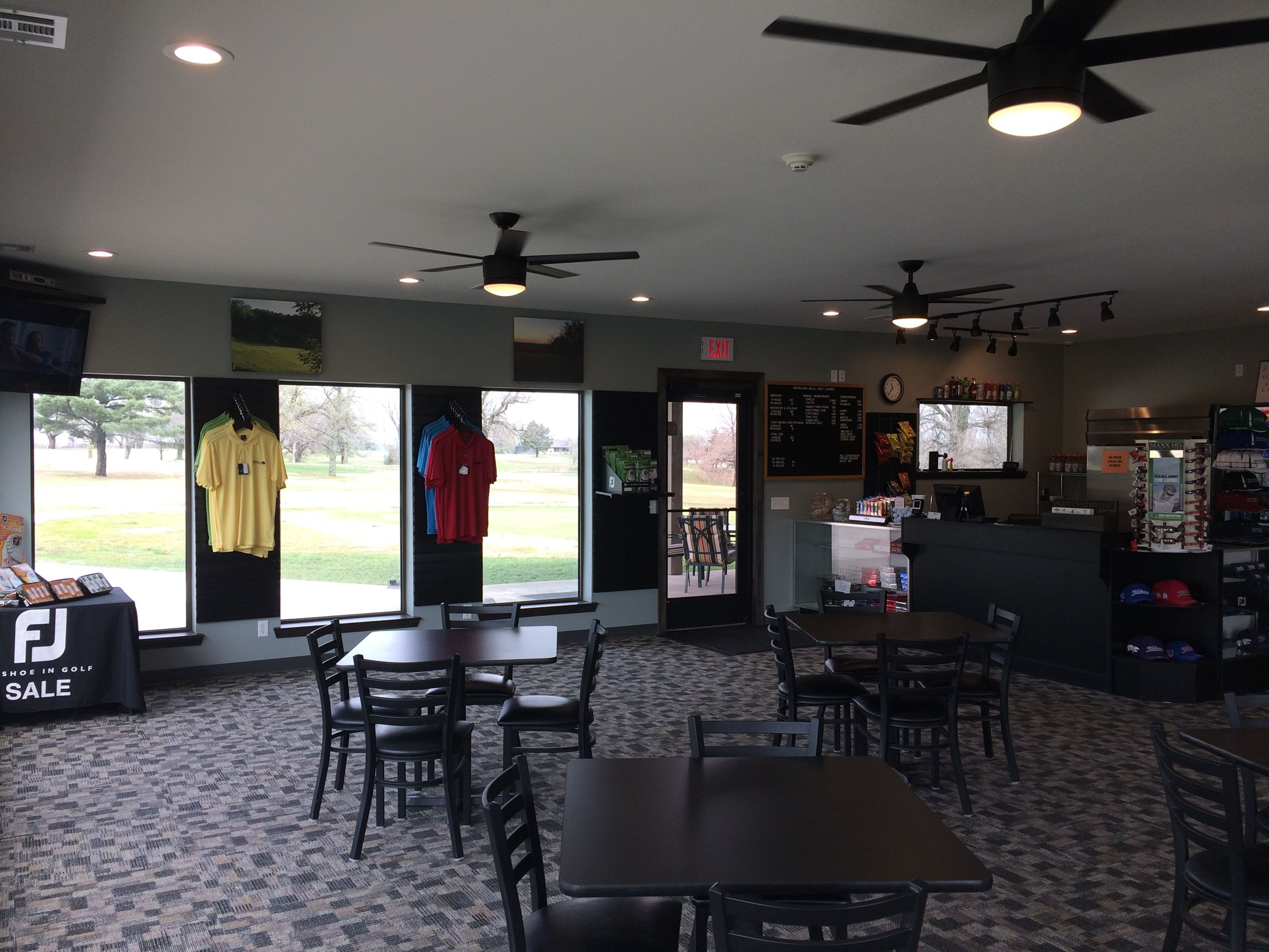 Clubhouse Interior 2, 2017